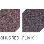 kolory_KOSTKA BRUKOWA oflisowana, górna powierzchnia płomieniowana, spód i boki o naturalnym przełomie